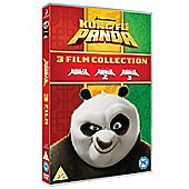 Kung Fu Panda 1-3 DVD