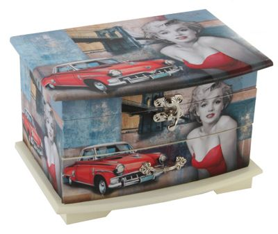 Buy Marilyn Monroe Jewellery Box from our All Womens Jewellery