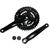 Coyote Black Steel Chainset 24/34/42 X 170mm