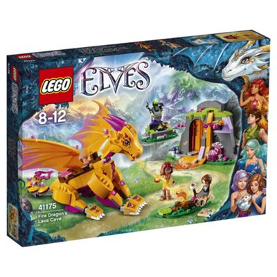 LEGO Elves Fire Dragon's Lava Cave 41175