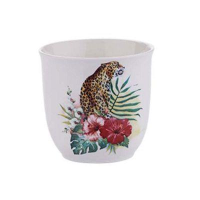 Bahne Coffee or Tea Mug Bone China Panther Print