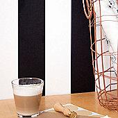 Superfresco Easy Paste The Wall Lynn Stripe Black/White Wallpaper