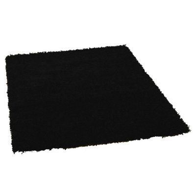 Rugs with Flair Nordic Cariboo Black Shag Rug - 60cm x 110cm