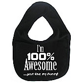 Dirty Fingers I'm 100% awesome just like my Aunty Bib Black
