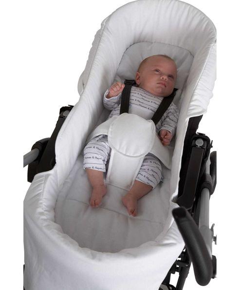 Mamas & Papas - Switch Pram Liner - White