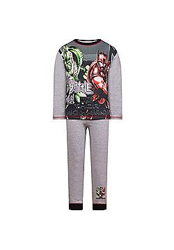 Marvel Avengers Boys Pyjamas - Grey