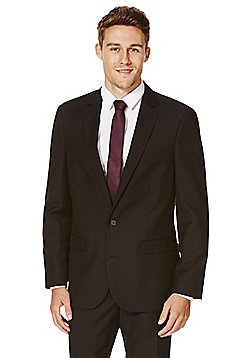 F&F Tailored Fit Suit Jacket - Black