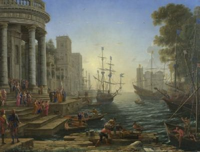 Seaport With The Embarkation of Saint Ursula - 3000pc Puzzle