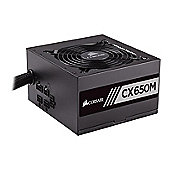 Corsair CP-9020103-UK CX Series CX650M ATX/EPS Semi-Modular 82 Plus Bronze 650 W Power Supply Unit
