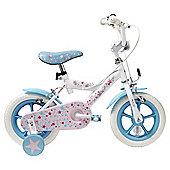 Terrain Starry Dream 12 inch Wheel White Kids Bike