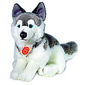 Teddy Hermann 29cm Husky Dog Plush Soft Toy