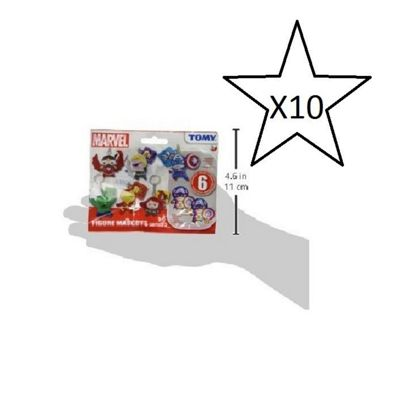 Marvel Figure Mascots Series 3 Blind Bag - 10 Bags Supplied