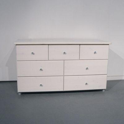 Oestergaard Missa Chest of Drawers 125cm - White