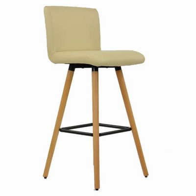 Buy Moritz Wooden Bar Stool Cream From Our Bar Tables Stools Range