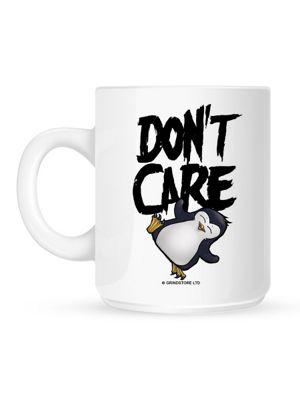 Psycho Penguin Don't Care 10oz Ceramic Mug