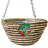 Kingfisher 30cm Rope Hanging Basket