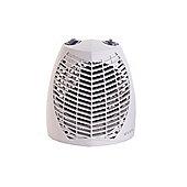 Glen GU2TS 2kW Upright Fan Heater with Thermostat & Heat Settings