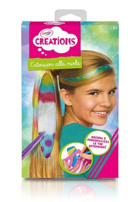buy crayola creations colour n wear hair extensions from our kids