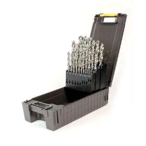 Reisser HSS Ground Drill Set (25Pc) 1.0-13.0mm