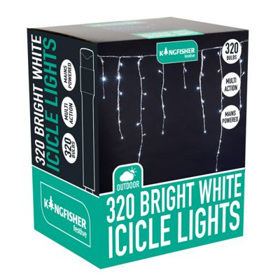 320 Multi-Action Icicle Lights (Mains Powered)