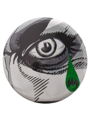DC Comics The Joker Tear White Badge