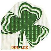 10 x Packs of 3 Harrows Dimplex Standard Dart Flights Irish Shamrock