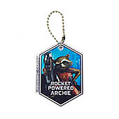 Guardians of the Galaxy Personalised Rocket Keyring