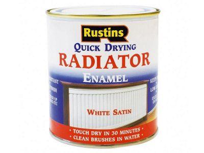 Rustins RADS250 250ml Quick Dry Radiator Paint Satin