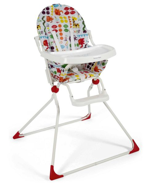Mamas & Papas - Din Dins Highchair - Jumble Jungle