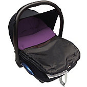 Car Seat Footmuff To Fit Maxi Cosi Pebble Cabrio Purple
