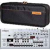 Roland TB-03 And CB-BRB1 Roland Boutique Bag