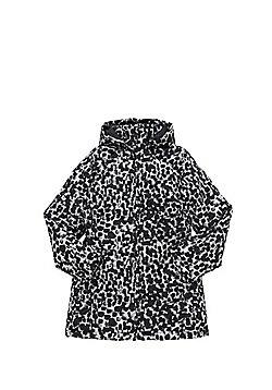 Name It Nitmello Spot Print Long Padded Jacket - Black