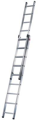 Hailo 519cm ProfiStep Duo 2-Section Aluminium Extension Ladder