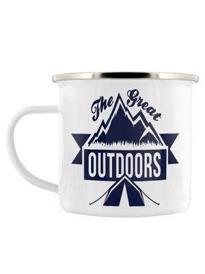 The Great Outdoors Enamel Mug 8cm
