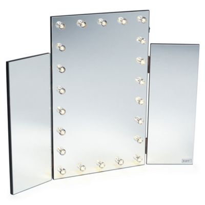 Delicieux Beautify Tri Fold 3 Way Vanity Dressing Table Mirror With LED Lights