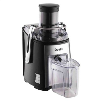 Dualit 88305 1200W 2.2 Litre Heavy Duty Juice Extractor Black/Chrome