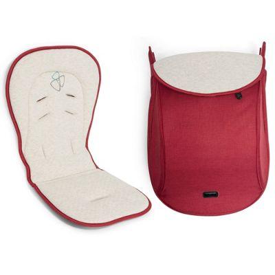 Tutti Bambini Koji/Arlo Pushchair Comfort Pack - Poppy