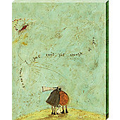 Sam Toft I Just Can't Get Enough Of You Canvas Print