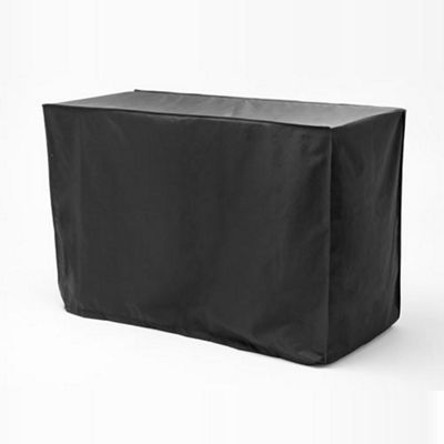 Gardenista Water Resistant Rectangular Table Cover - Black