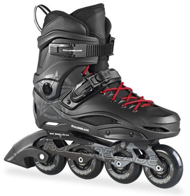Rollerblade 2016 RB80 Urban Inline Skates - Black/White