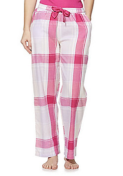F&F Checked Lounge Pants - Pink & Multi