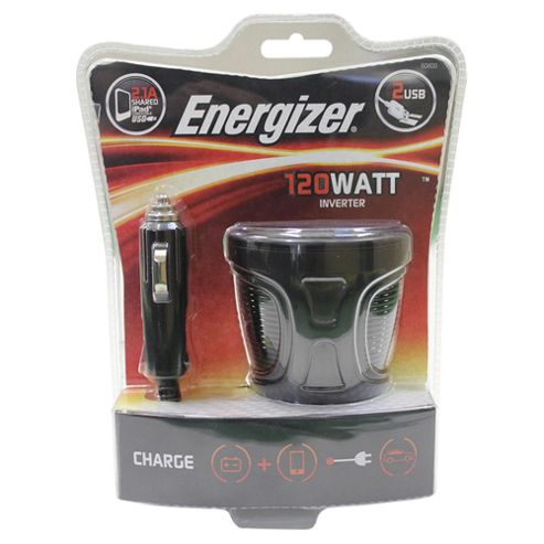 Energizer 120W Cup Holder Car Charger