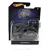 Hot Wheels Batman Justice League Grey Batmobile Die Cast Vehicle
