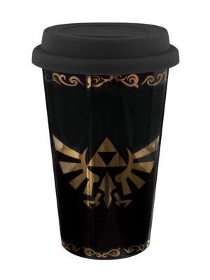 The Legend of Zelda Triforce Travel Mug, Black