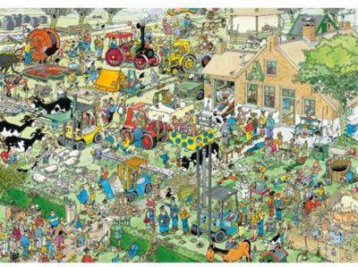 Jan Van Haasteren - Farm Visit - 1000pc Puzzle