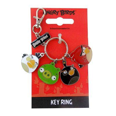 Angry Birds Charm Keyring