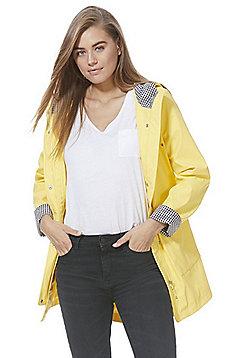 F&F Shower Resistant Mac - Yellow