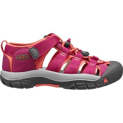 Keen Kids Newport H2 Sandal Very Berry/Fusion Coral 5