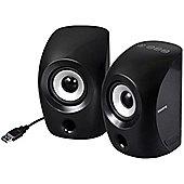 Gigabyte S3000 Speaker System - 4.5 W RMS - Portable - Black
