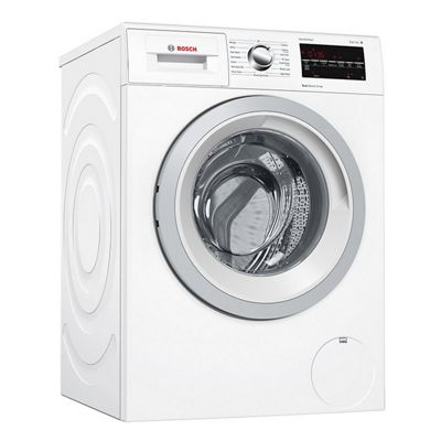 BOSCH-WAT28421GB Freestanding Washing Machine with 8KG Load Capacity, A+++ Energy Rating and 1400RPM Spin Speed